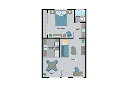 Layout D Floor Plan