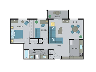 Layout I Floor Plan