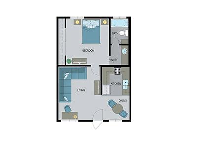 Layout B Floor Plan
