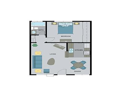 Layout C Floor Plan