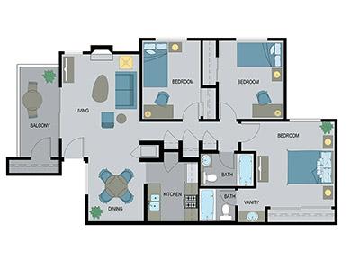 Layout A Floor Plan