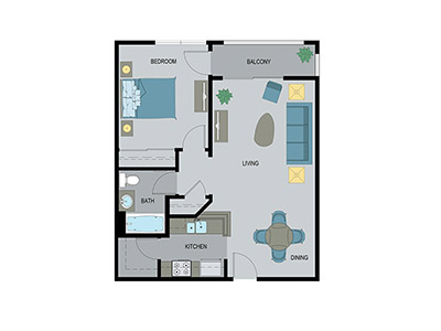 Layout A Floor Plan