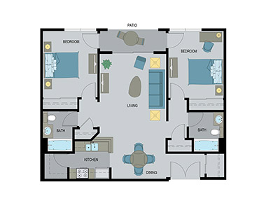 Layout B Floor Plan