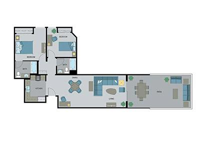 Layout E Floor Plan